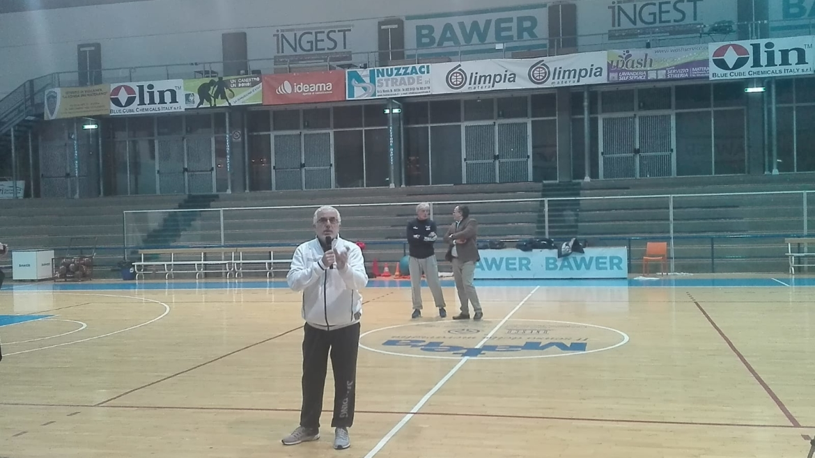 Easybasket In Europe press conference about ongoing activities in Matera!