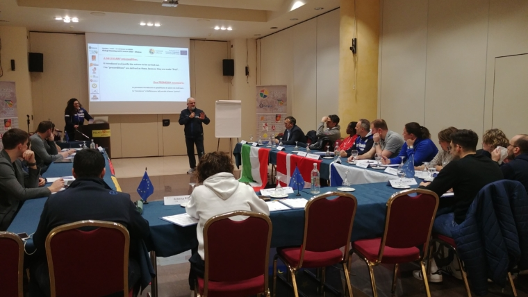 Success for the Kickoff Meeting of the EIE project in Matera – Italy