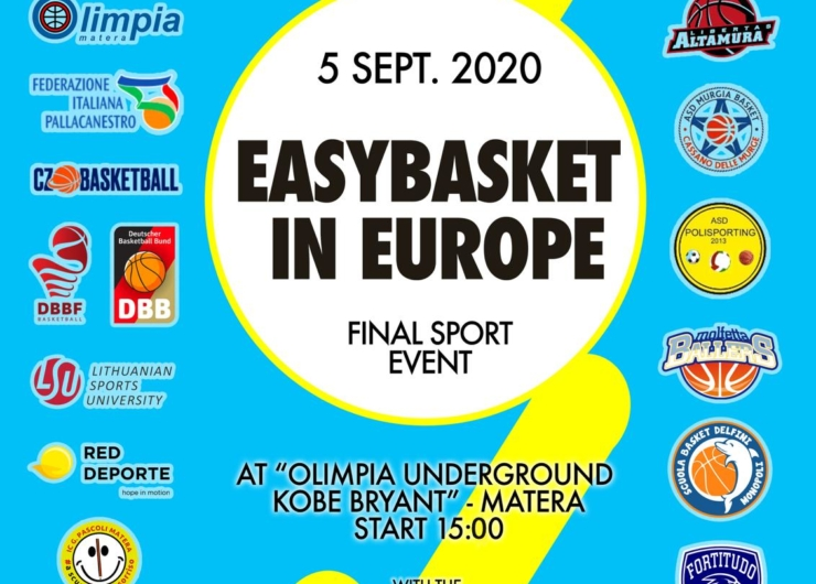 Easybasket FINAL SPORT EVENT – 5 September 2020 (Matera, Italy)