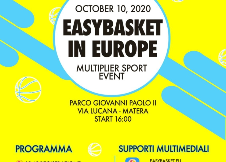 Press conference and Multiplier Sport Event will close EIE project in Matera (10 October 2020)