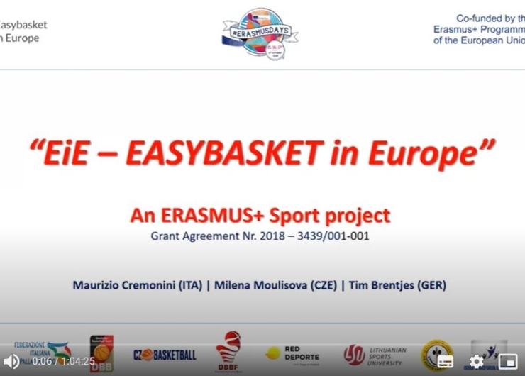 """""""Inside EIE"""" online even at Erasmus Day 2020"""
